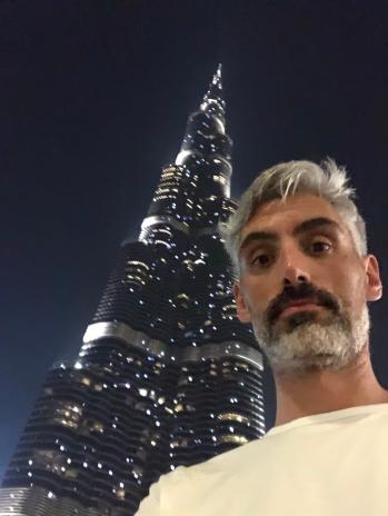 Roberto à Dubai