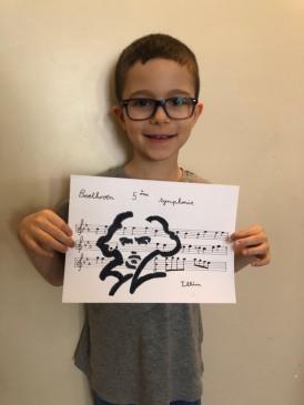 Illian et son très beau dessin !
