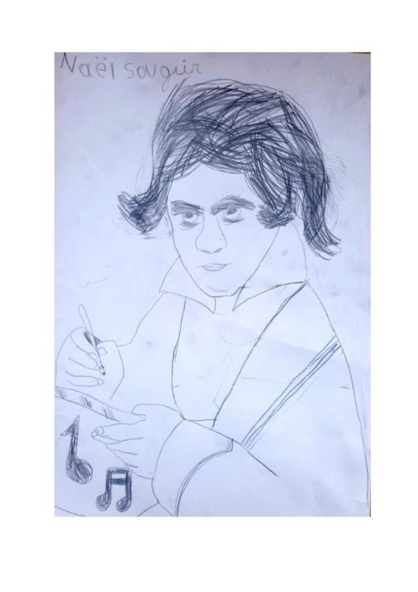 Un joli portrait par Naël