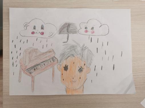 Un beau dessin par un élève de la classe de Mme.Silva